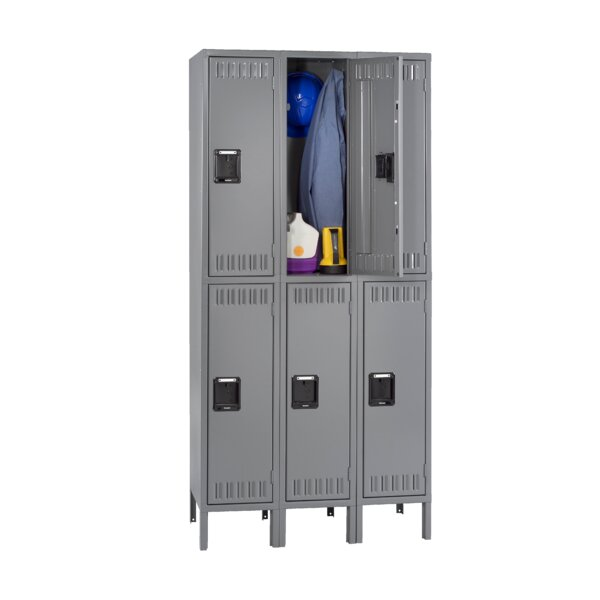2 Tier 3 Coat Locker by Tennsco Corp.