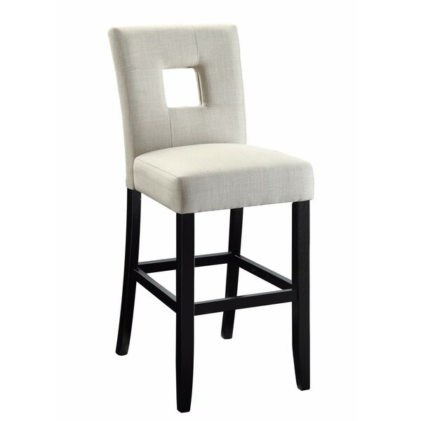 Herchenroether Counter Height Upholstered Dining Chair (Set of 2) by Latitude Run