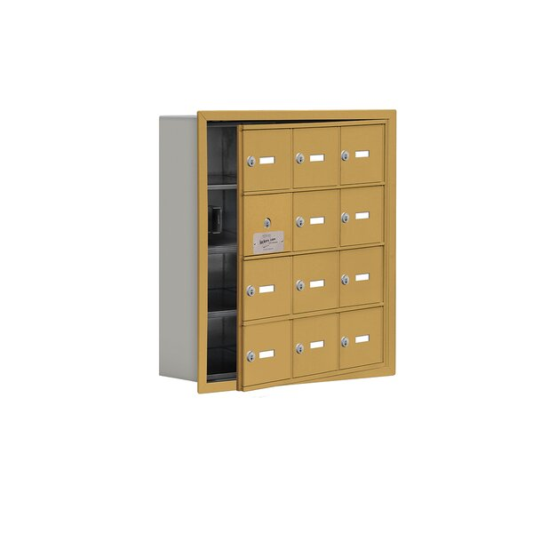 4 Tier 3 Wide EmpLoyee Locker by Salsbury Industries