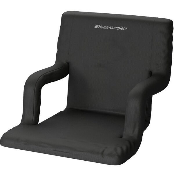Reclining/Folding Stadium Seat with Cushion by Home-Complete Home-Complete