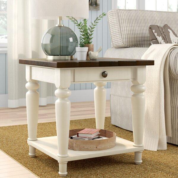 Calanna End Table by Gracie Oaks