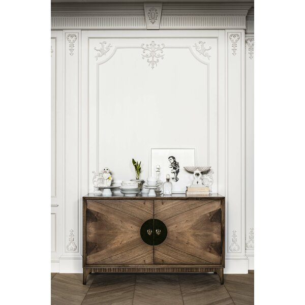 Minna Walnut Sideboard by Bloomsbury Market Bloomsbury Market