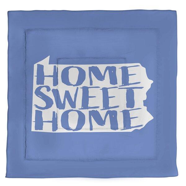 Pennsylvania Home Sweet Single Reversible Comforter