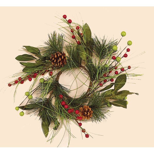 Berry 10 Wreath by Worth Imports