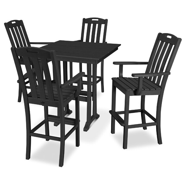 Yacht Club 5 Piece Dining Set by Trex Outdoor