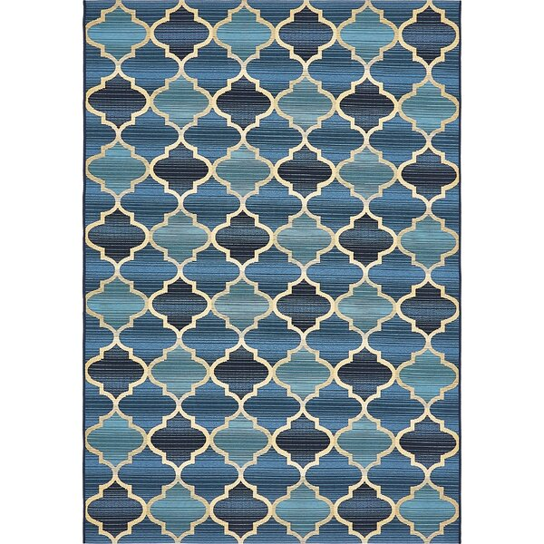 Alice Blue Indoor/ Outdoor Area Rug by Winston Porter