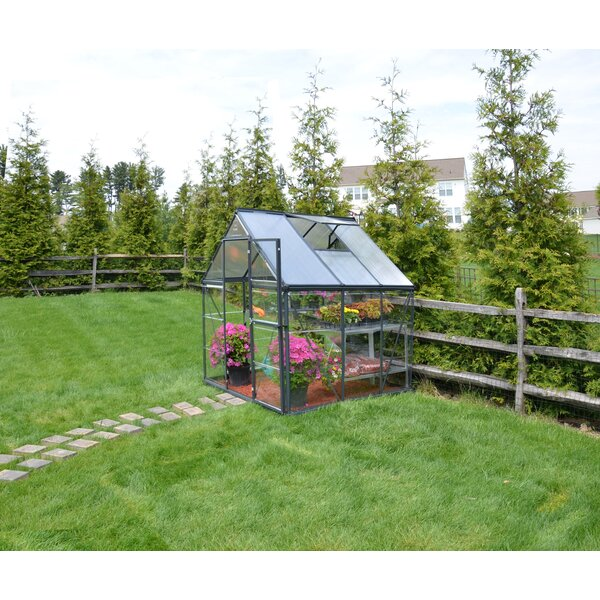 Hybrid™ 6 Ft. W x 6 Ft. D Greenhouse by Palram