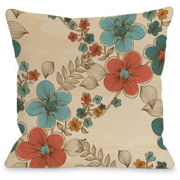 Elegant Sweep Throw Pillow by One Bella Casa