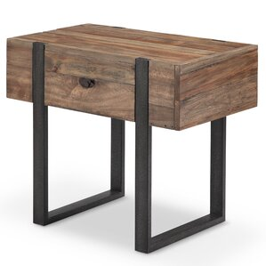 Sharri Modern End Table by..