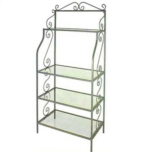 Savings Wrought Iron Baker's Rack Affordable