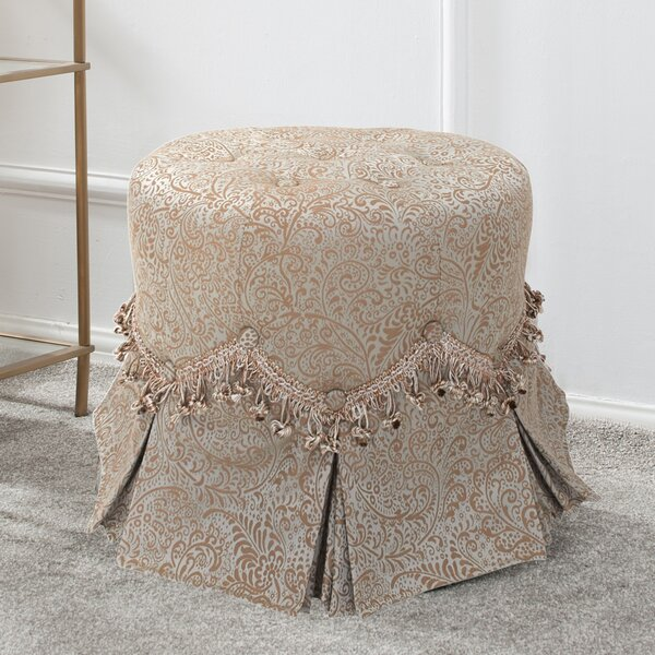 Hedgerley Round Vanity Stool by Astoria Grand