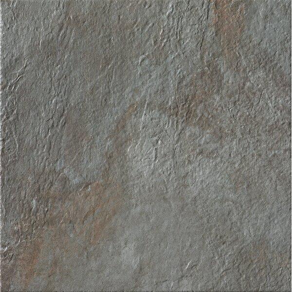 Rok 20 x 20 Porcelain Field Tile in Nero by Bedrosians