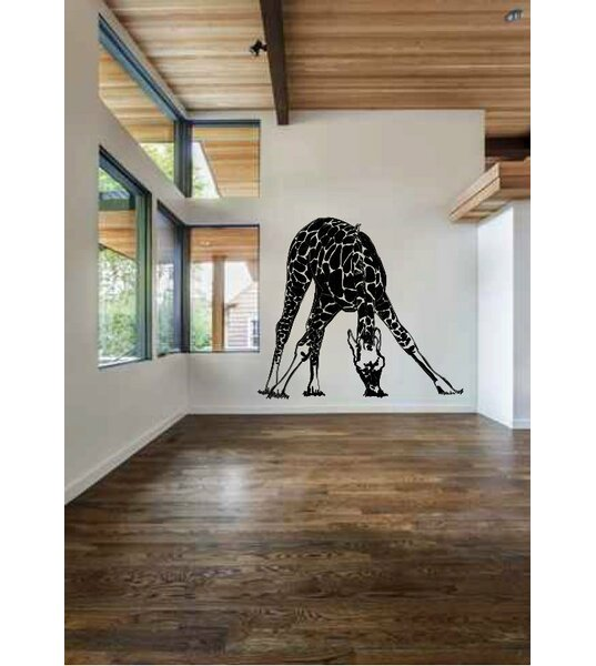 Isabeau Huge Giraffe Wall Decal by Zoomie Kids