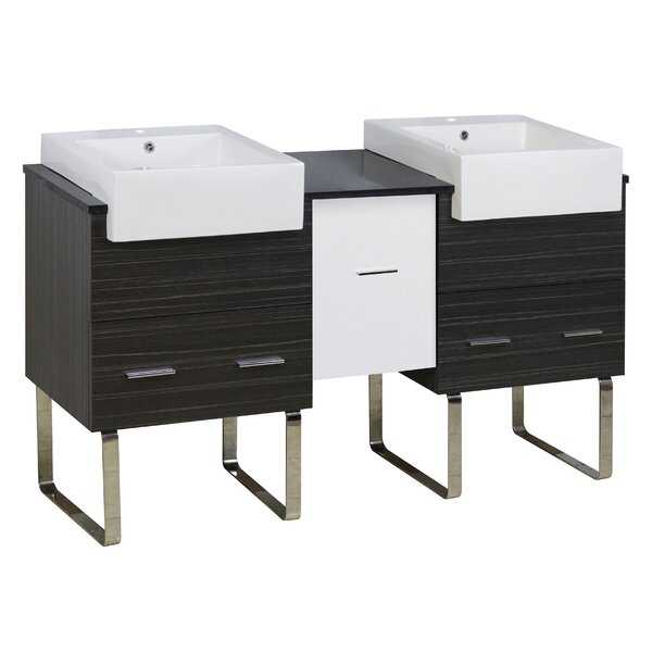 Barter 60 Double Bathroom Vanity Set by Orren Ellis