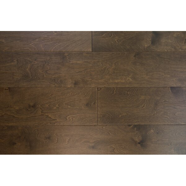Stockholm 7-1/2 Engineered Birch Hardwood Flooring in Almond by Branton Flooring Collection
