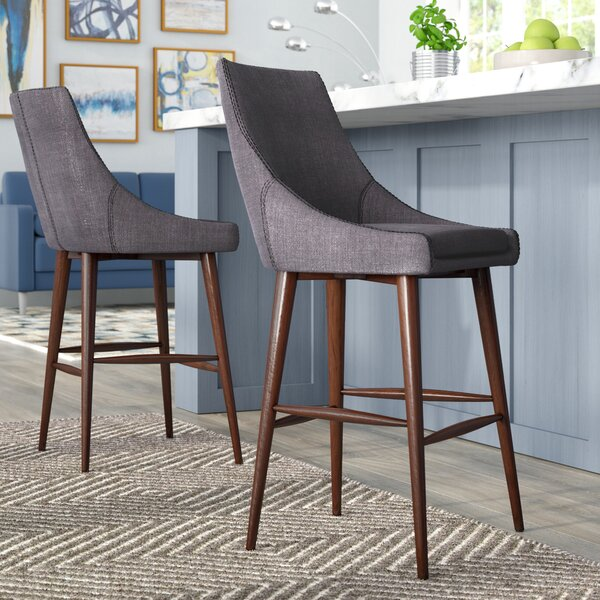 Blaisdell 24 Bar Stool (Set of 2) by Mercury Row