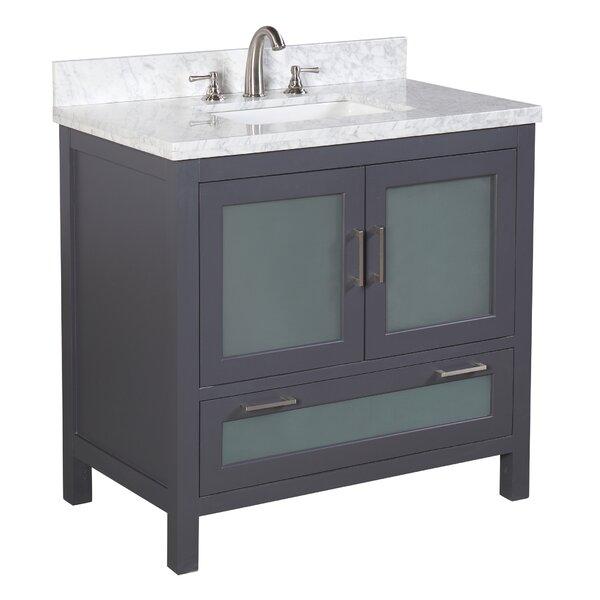 Manhattan 36 Single Bathroom Vanity Set by Kitchen Bath Collection