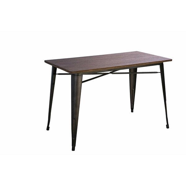 Ridenour Solid Wood Dining Table by Williston Forge