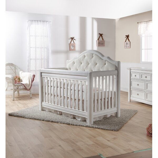 Cristallo Forever 4-in-1 Convertible Crib by PALI