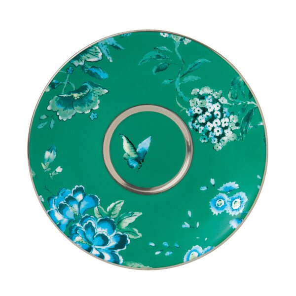 Chinoiserie Green Tea Saucer by Jasper Conran by Wedgwood
