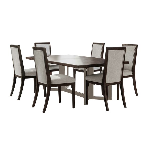 Mifley 7 Piece Dining Set by Wrought Studio