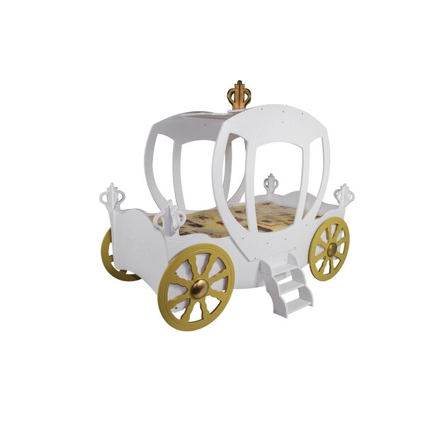 Princess Carriage Toddler Car Bed by Zoomie Kids