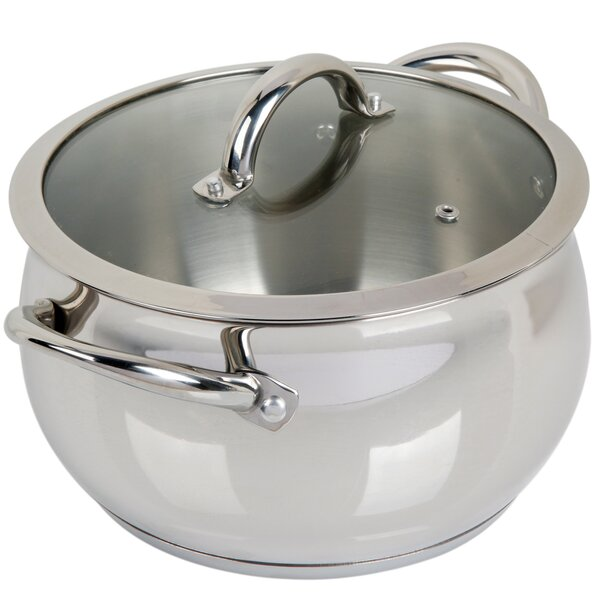 Lexie 6 Quart Dutch Oven with Lid by Symple Stuff
