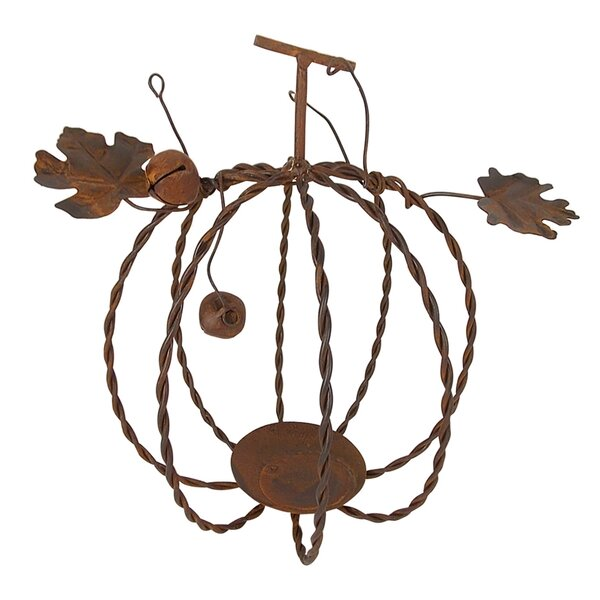 Tin Fall Pumpkin by Craft Outlet