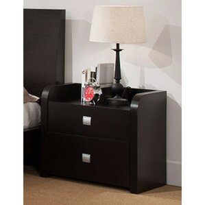 Disanto Beautiful 2 Drawer Nightstand by Latitude Run