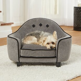 Delicieux Loughlin Ultra Plush Dog Sofa