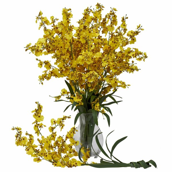Dancing Lady in Yellow (Set of 12) by Nearly Natural