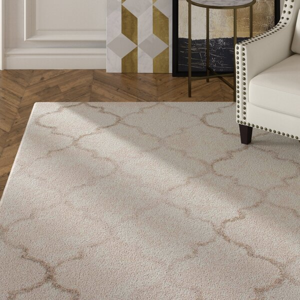 Langella Hand-Tufted Cream Area Rug by House of Hampton