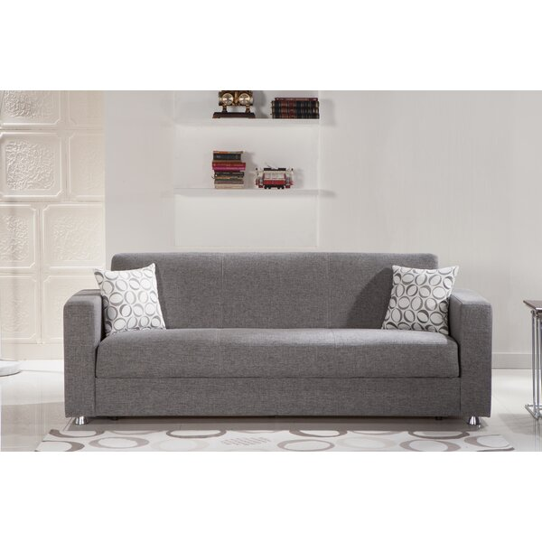 Famous Brands Jaxson Convertible Sofa by Ebern Designs by Ebern Designs