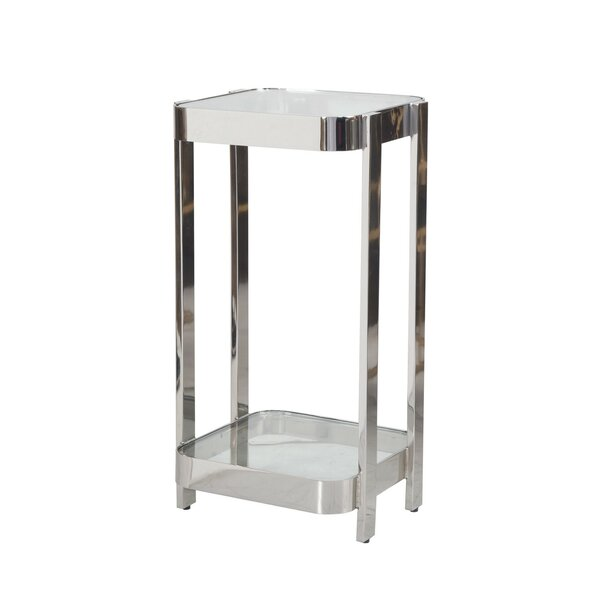 2 Tier End Table By Worlds Away 2019 Online