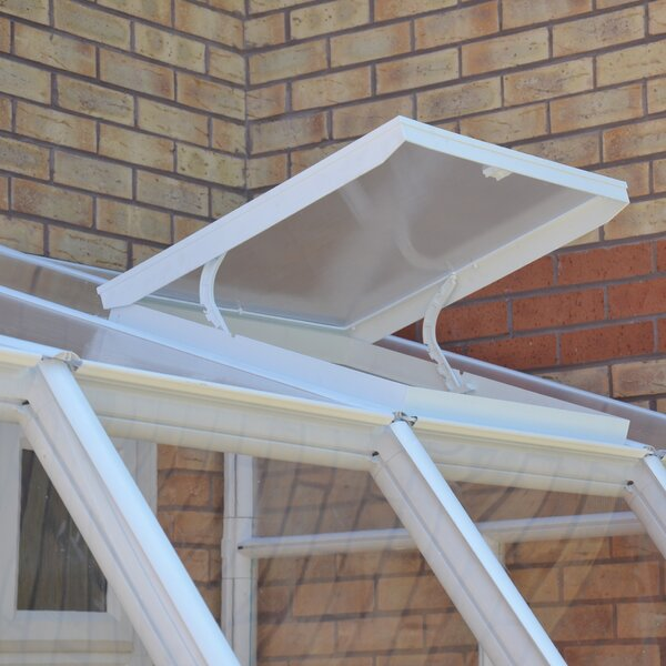 Sunroom 2 Roof Vent Kit by Rion Greenhouses