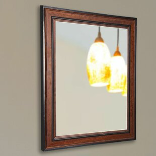 Darby Home Co Country Pine Accent Mirror