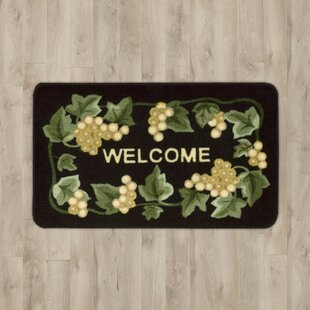 Top Reviews Poquonock Black Grapes Area Rug ByCharlton Home