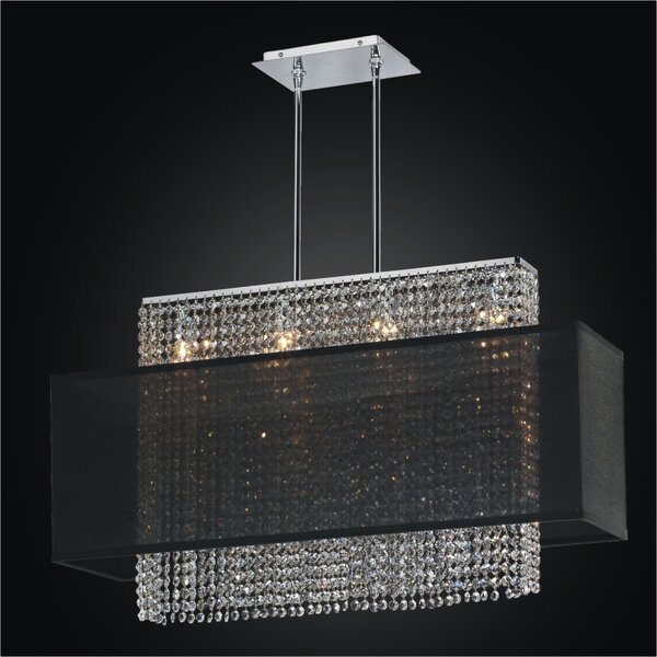 Urban Essentials 4-Light Kitchen Island Pendant by Glow Lighting