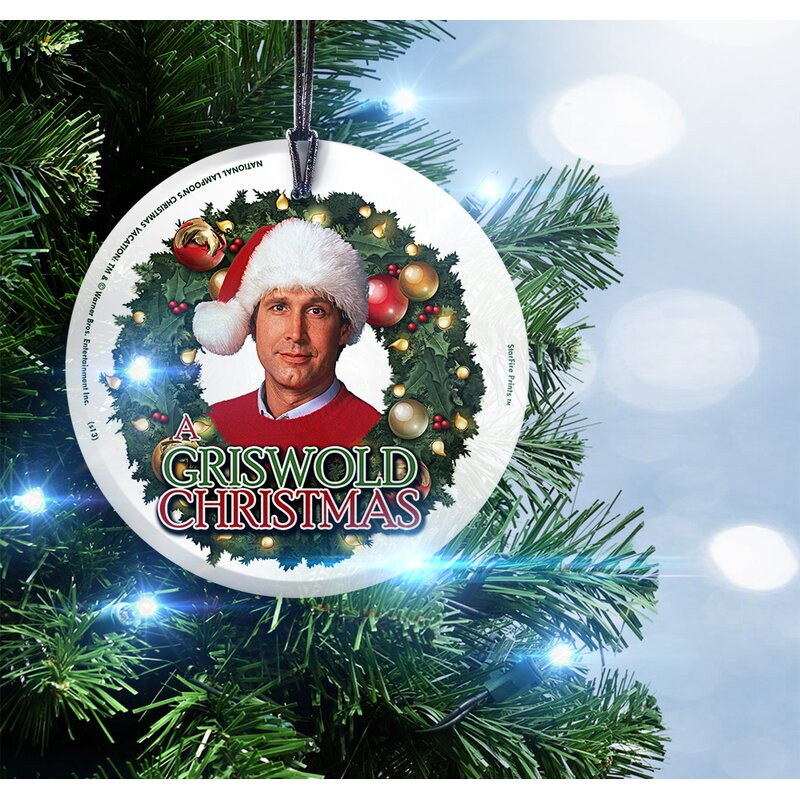 national lampoons christmas vacation griswold christmas hanging shaped ornament - National Lampoons Christmas Vacation Pictures