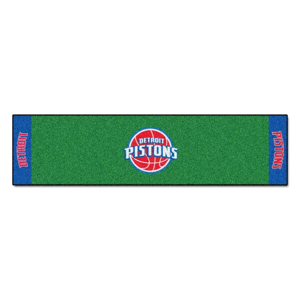 NBA - Detroit Pistons Putting Green Doormat by FANMATS