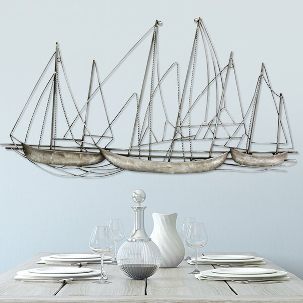 Grand Sailboat Wall Décor by Stratton Home Decor