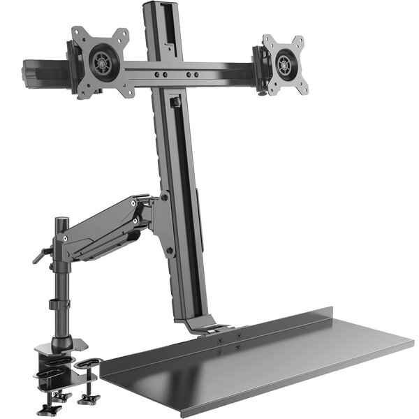 Tilt and Swivel Desktop Mount for 20 - 27 LCD LED by Rosewill