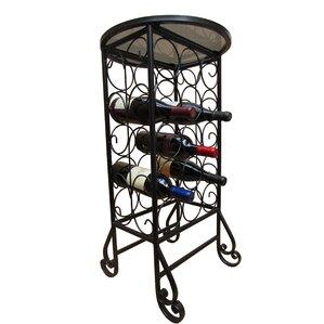15 Bottle Floor Wine Rack by Pangaea Home and Garden