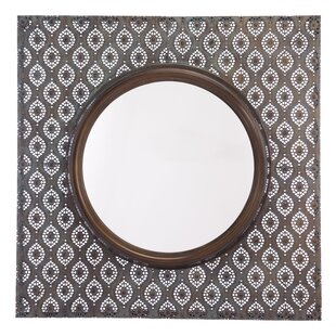 Bungalow Rose Carshalton Metal Accent Mirror