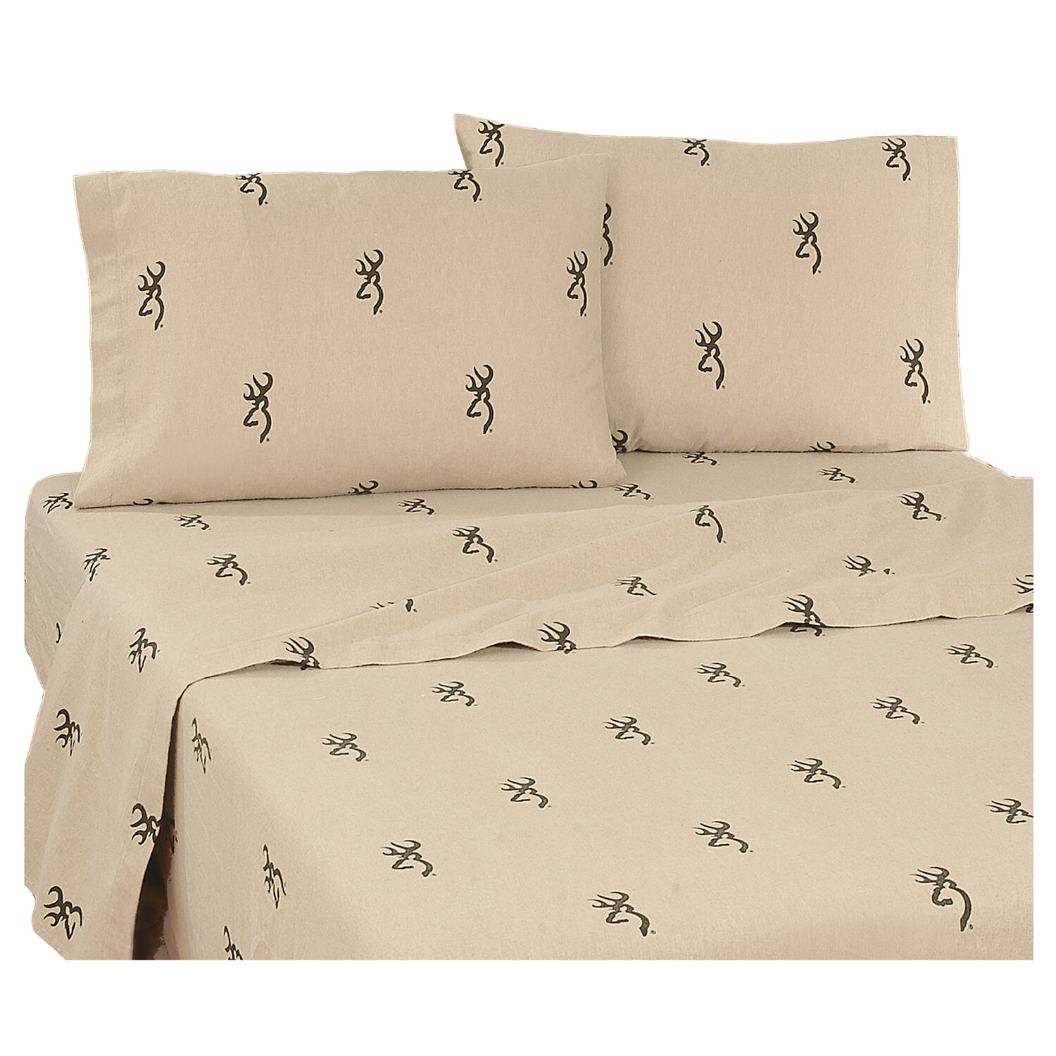 Browning Country 180 Thread Count Percale Sheet Set | Wayfair