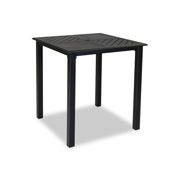 Monterey Wicker/Rattan Bar Table by Sunset West