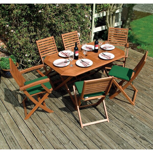 Plumley 7 Piece Dining Set by Rowlinson