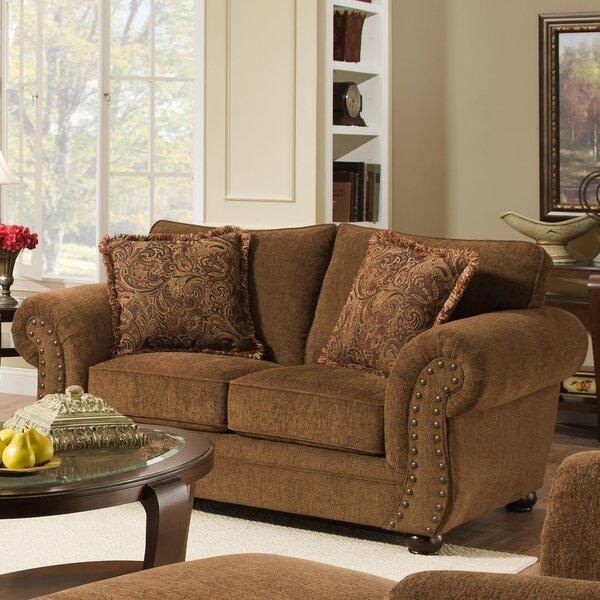 Modern Beautiful Freida Loveseat by Astoria Grand by Astoria Grand