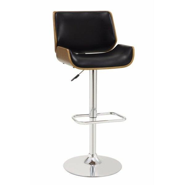 Dylan Adjustable Height Swivel Bar Stool By George Oliver