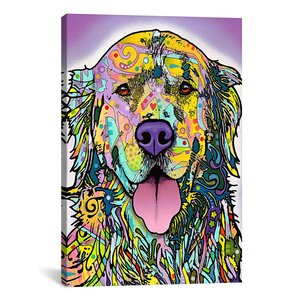 Silence Is GoldenGraphic Art on Wrapped Canvas by East Urban Home